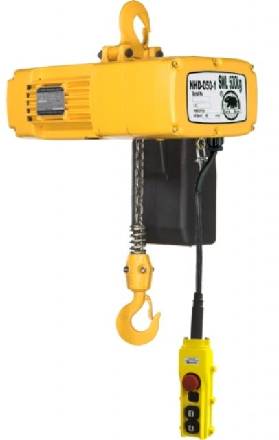 Cheng Day's electric chain hoist.