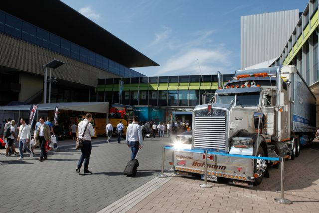 "Automechanika Frankfurt 2016 continued setting out ""Truck Competency"" program (photo courtesy of Messe Frankfurt)."