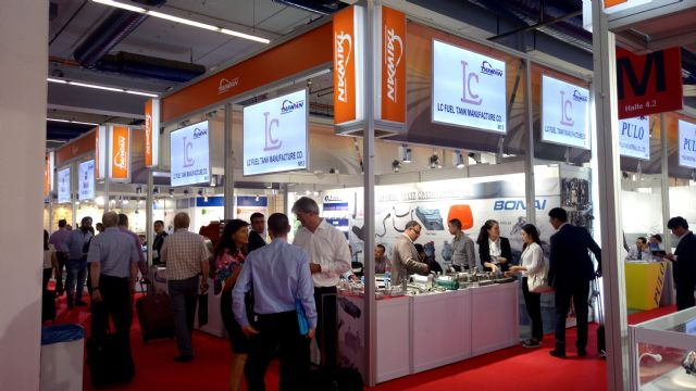 EDN and CENS headed the largest exhibitor group from Taiwan to Automechanika Frankfurt 2016.