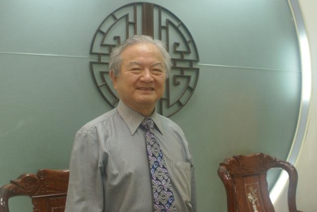 遠東機械集團董事長莊國輝。 吳青常/攝影