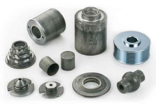 Samples of Grand Forging's products.