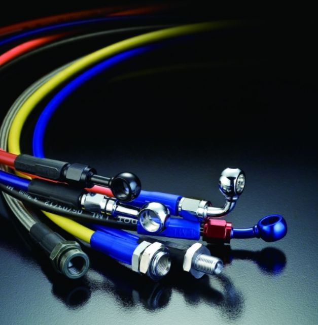 Lung Ming Li's PTFE hoses are well received by end-users from different sectors.
