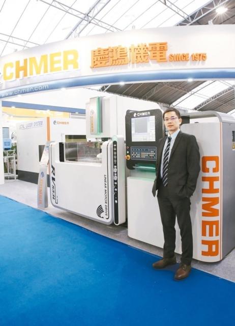 慶鴻機電RV853L-智能化線性馬達驅動線切割機,獲選台灣精品獎並入圍金銀質獎決選。 慶鴻機電/提供
