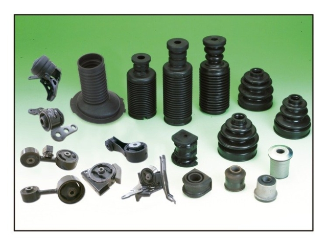 各類橡膠製品。 復程/提供