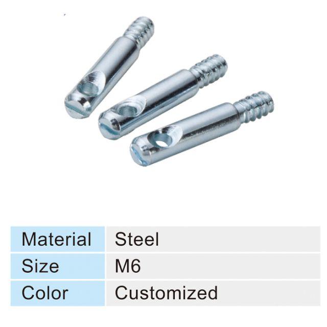 Sample of Chieh Ling's furniture screws.