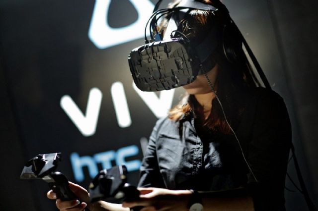 HTC Vive commanded a 17.7 percent share of China's VR headset market as the best-selling model among others in 2016, as reported by Canalys (photo courtesy of UDN.com).