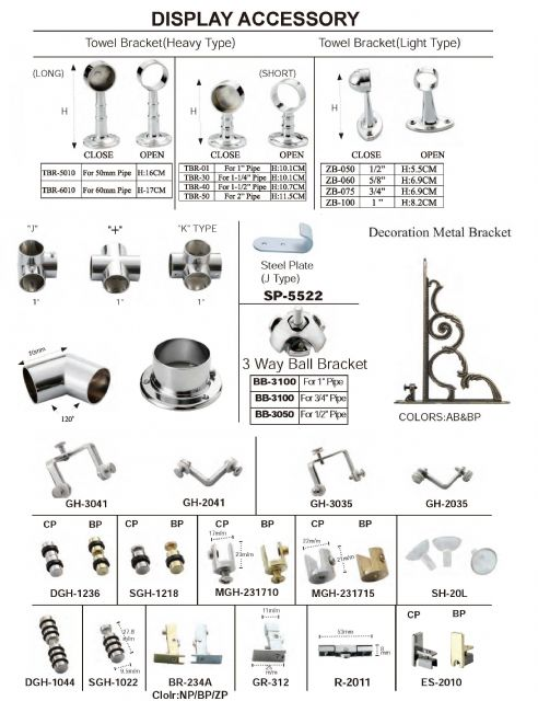 Shami Dong supplies a variety of fasteners and furniture fittings.