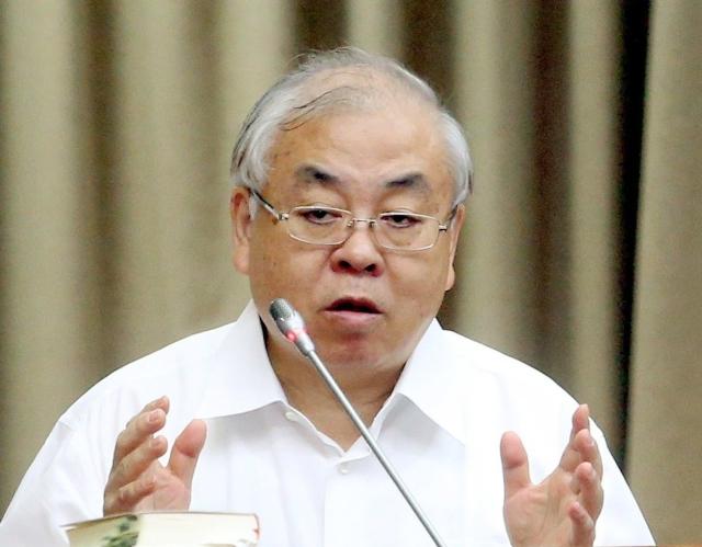 行政院主計總處主計長朱澤民 圖/聯合報系資料庫