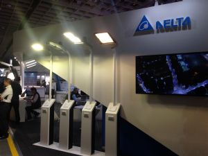 Delta displays its total solution for intelligent LED streetlights at this year's TILS and LED Taiwan.