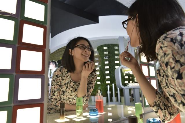 美妝照明是OLED照明前瞻性應用之一 圖/工研院提供