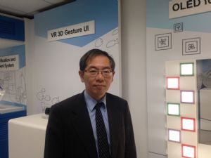 Jupiter Hu, Ph.D. and deputy general director of Electronic and Optoelectronic System Research Laboratories.