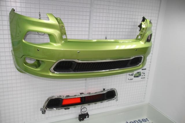 東陽今年推出專利認證的AGS(Active Grille Shutter)自動進氣柵欄,主攻AM市場 圖/東陽提供