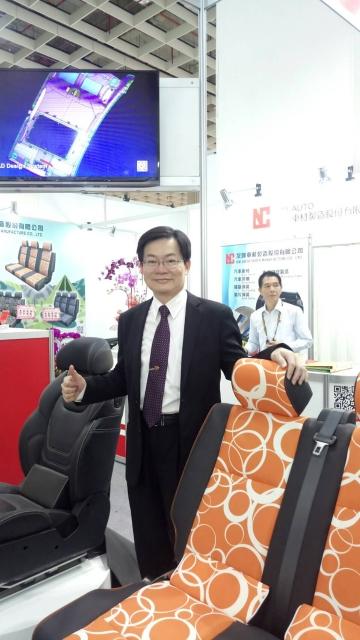 友聯車材總經理楊登宏。
