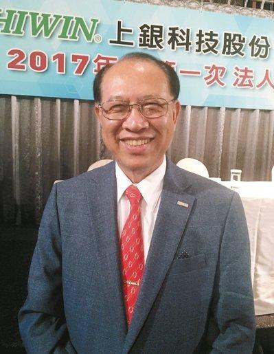 上銀科技董事長卓永財 記者宋健生/攝影