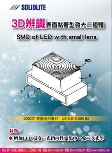 诠兴开发高功率VCSEL产品应用于3D感应之红外线LED封装专利。图/诠兴提供
