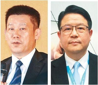台達電執行長鄭平(左)台達電副總裁鄭安。 本報系資料庫