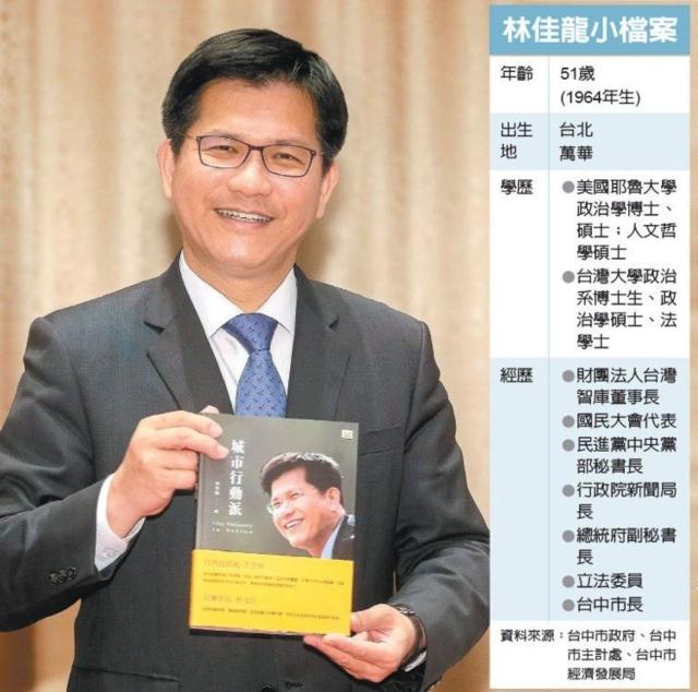 林佳龍小檔案 圖/經濟日報提供