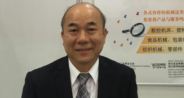 Alex Ko, chairman of the Taiwan Association of Machinery Industry (TAMI)  (photo courtesy of UDN.com).