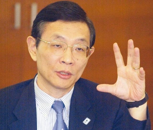 旺宏總經理盧志遠。 報系資料照