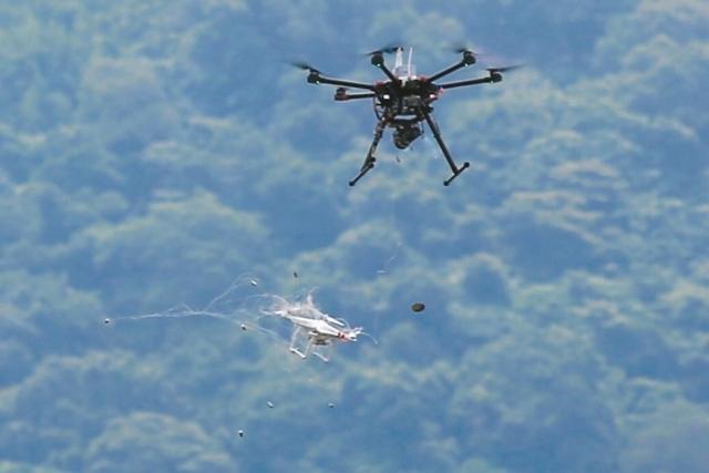 無人機示意圖。記者林伯東/攝影