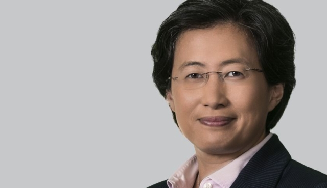 Lisa Su, CEO and president of AMD. (photo provided by UDN)