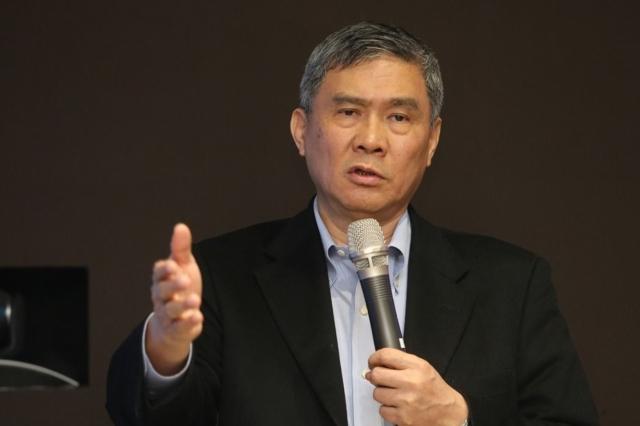 Yancey Hai, Delta`s chairman (photographed by Jason.Hsu)