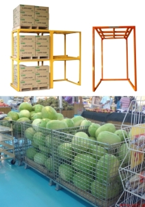 Cens.com News Picture Sane Jen of Taiwan Reputed as Veteran Manufacturer for Watermelon Storage Cage, Logistics Roll Cage and Display Cage<h2>Professional manufacturer provides high quality products and service</h2>
