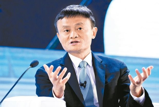Jack Ma, the chairman of Alibaba Group. (photo provided by UDN)