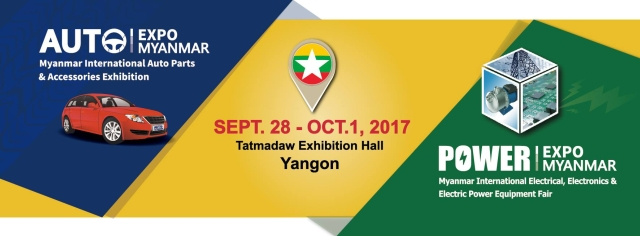 Auto &Power Expo Myanmar 2017--Top 120 exhibitors with 170+ booths