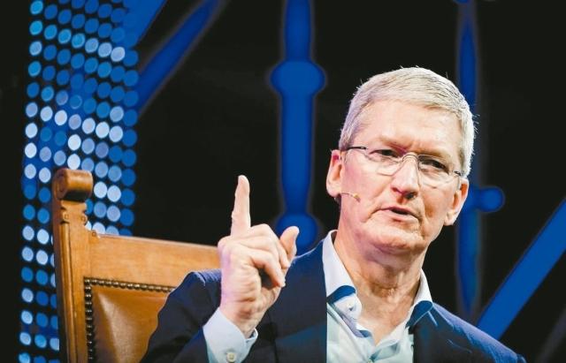 蘋果執行長庫克。 圖/報系資料照