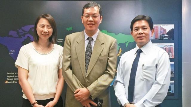 研華共治總經理蔡淑妍(左起)、陳清熙、張家豪。 記者謝艾莉/攝影