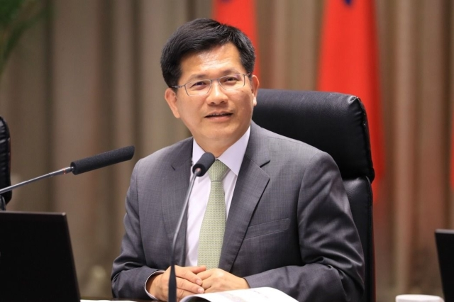 Taichung Mayor Lin Chia-lung (photo provided by UDN.com).