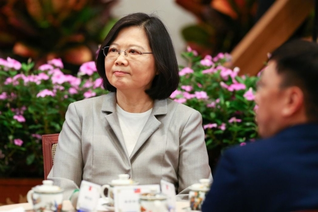 Tsai Ing-wen, the President of Taiwan (photo provided by UDN).