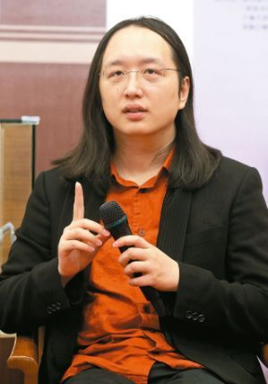 Audrey Tang, a Taiwanese free software programmer and a minister without portfolio (photo provided by UDN.com)