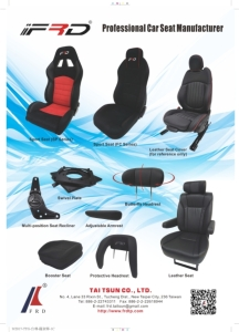 Cens.com News Picture Tai Tsun Co., Ltd<h2>Leather seat covers, child safety seats, racing seats, yacht seats, car headrests, car armrests and related parts.</h2>
