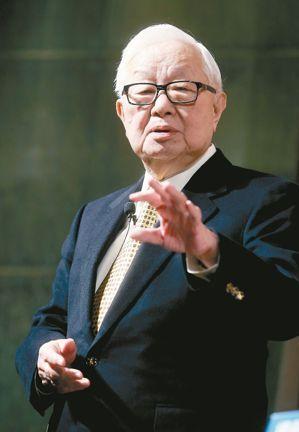 台積董事長張忠謀。 圖/經濟日報提供