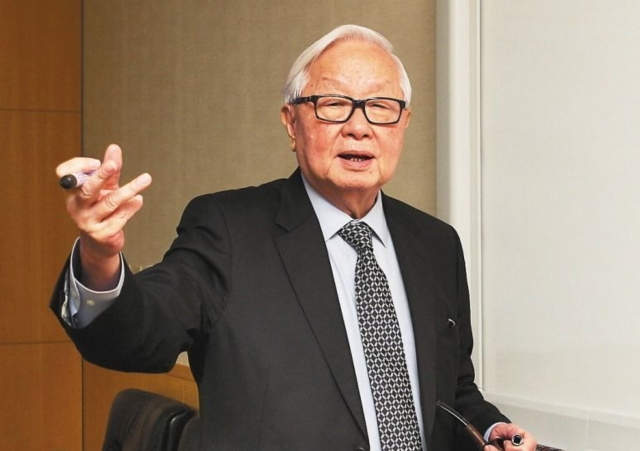 Morris Chang, the founding and current chairman and CEO of TSMC (photo provided by UDN.com)