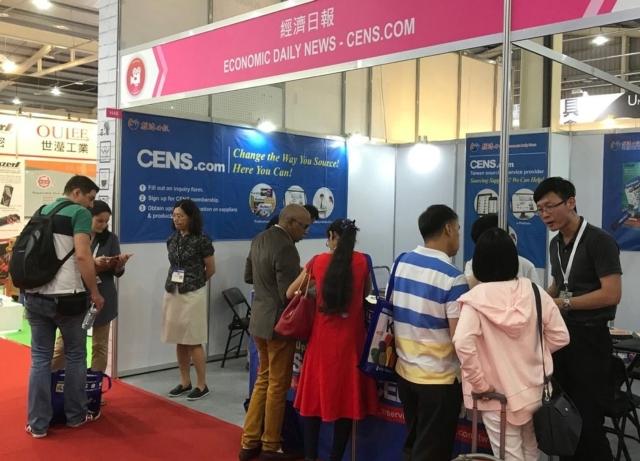 CENS.com網站平台、專業刊物,相當受到買主的歡迎。 楊逢峮/攝影
