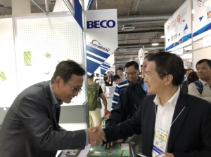Cens.com News Picture Changhua County Magistrate of Taiwan Visited AAPEX and SEMA