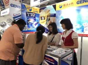 Cens.com News Picture AAPEX共同組團的車輛公會、台北市進出口商業同業公會、台灣鍛造協會、南台灣汽機車發展策略聯盟,也在現場設有櫃台服務會員。