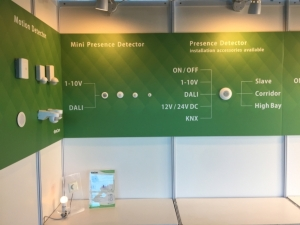 好慶的燈具以及感應器產品以外銷為主,產品已通過CE認證以及UL認證。
