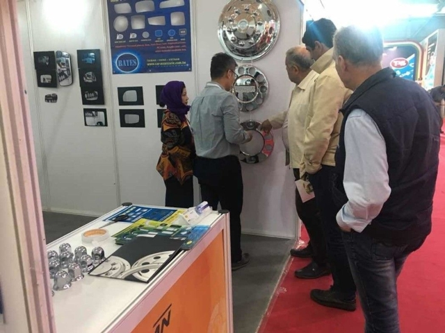 A2A`s wheel cover was popular among buyers at IAPEX 2017. (photographed by Stiven.Huang)