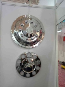 Cens.com News Picture A2A's Stainless Steel Wheel Cover Captures Attention from Profess...