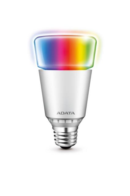 威剛的AURA極光RGB球泡燈