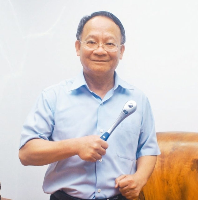 H.C. Yu, chairman of Re-Dai and THTMA. (photographed by Ching Chang Wu)