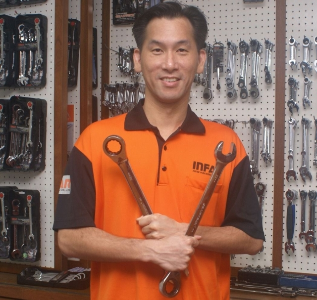 Chen Tai-hong, general manager of Infar. (photographed by Ching Chang Wu)