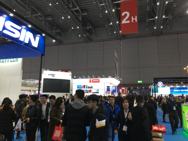 Over 130,000 visitors attended Automechanika Shanghai 2017 (photographed by Yushann Lin)
