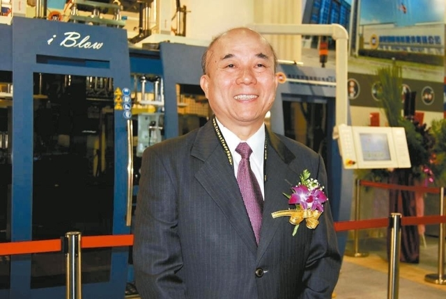 Alex Ko, chairman of the Taiwan Association of Machinery Industry (TAMI) (photographed by Michel Lu).