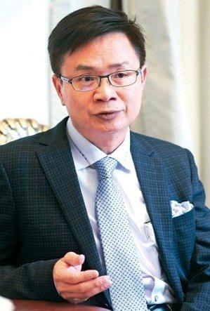 貿協董事長黃志芳。 本報系資料庫