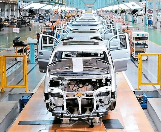 ever more automakers have actively set up their production in Vietnam, to bring significant changes to the fast-growing Southeast Asian auto market (photo provided by UDN.com).